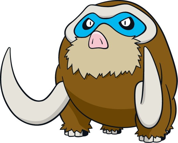 #473 Mamoswine Art, Sprites, & Wallpapers - SpriteDex ...