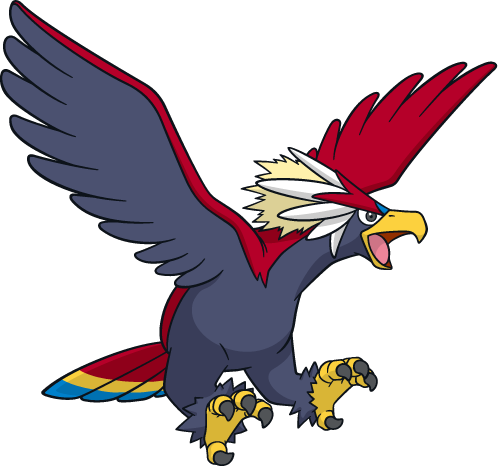 628 Braviary Art Sprites Amp Wallpapers Spritedex Pok 233 Dex Pldh Net