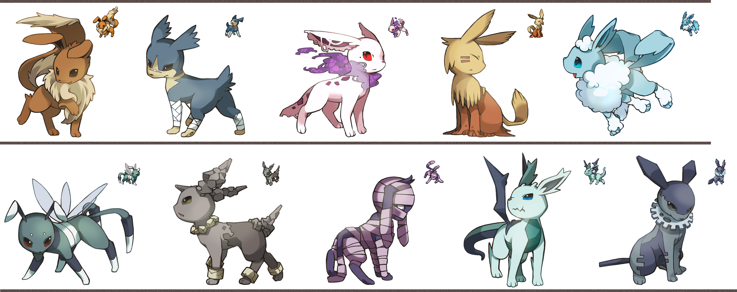 Eeveelutions - General...