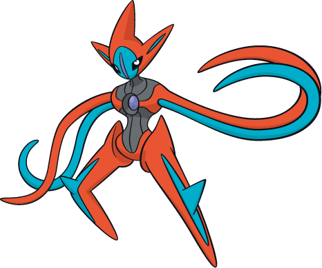 Fastest Pokemon - Deoxys