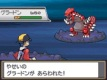 battling with groudon